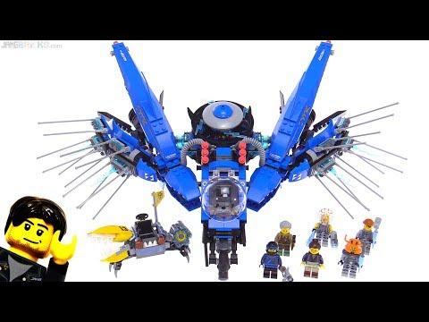 LEGO Ninjago Movie Lightning Jet review! 70614