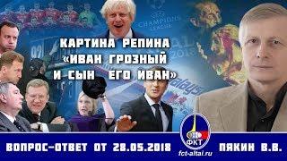Валерий Пякин. Картина Репина «Иван Грозный и сын  его Иван»