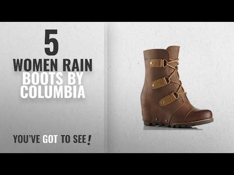 6ed7e0ff9599 Columbia Women Rain Boots  2018   Sorel Women s Joan Of Arctic Wedge Mid  Boot