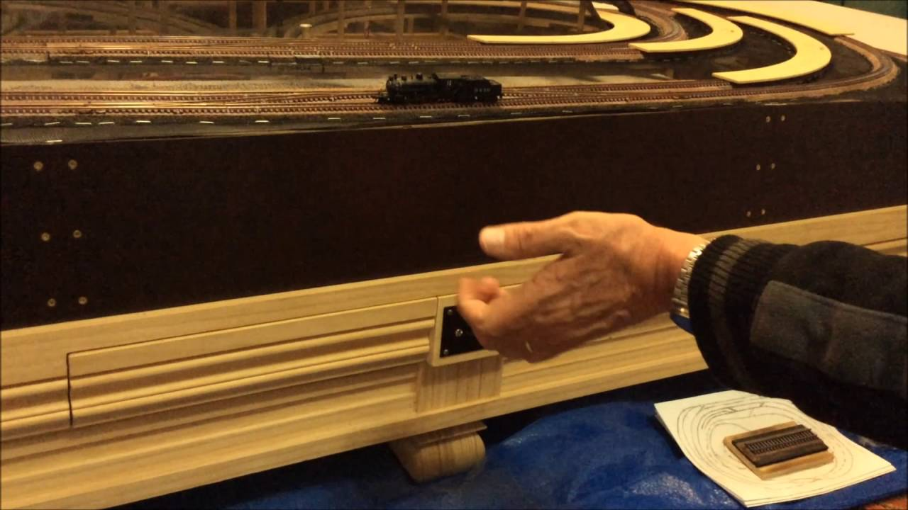 N Scale Coffee Table Train Layout Pt. 3 - YouTube