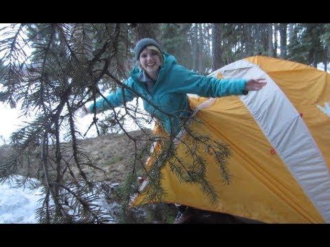 Seeley Lake Winter Camping