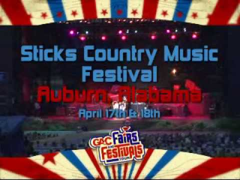 Great American Country (GAC) Adds Sticks Country Music Festival to Line-Up!