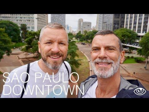 São Paulo Downtown / Brazil Travel Vlog #186 / The Way We Saw It