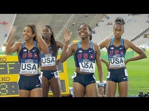 American girls wins 4x400m in Junior Championship - Universal Sports