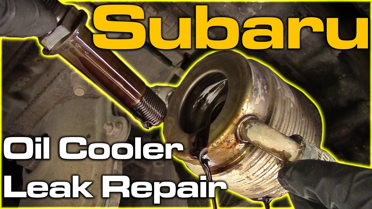 Subaru Oil Cooler Leak Youtube Ej205 Engine Diagram Premium