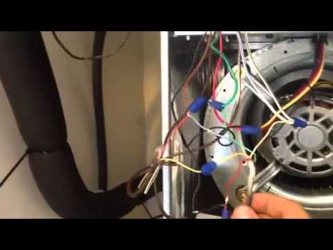 hqdefault how to wire low voltage on rheem, rudd youtube rheem air handler wiring diagram at bakdesigns.co