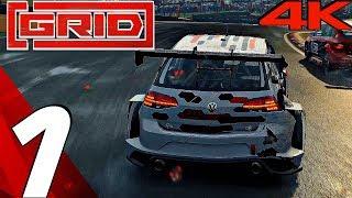 GRID (2019) - Gameplay Walkthrough Part 1 - Career Mode (Full Game) 4K 60FPS