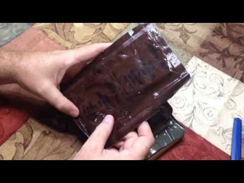 Vintage 1987 U.S. Military MRE Review Menu No. 8 Beef Diced With Gravy