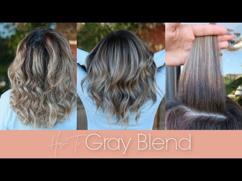How To Gray Blend With Kenra Color