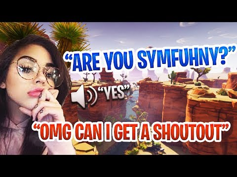 GIRL VOICE TROLLING A FAKE SYMFUHNY