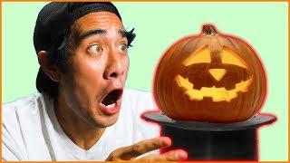 10 Cool Halloween Tricks That Will Blow Your Mind - Best Zach King Magic Tricks Ever