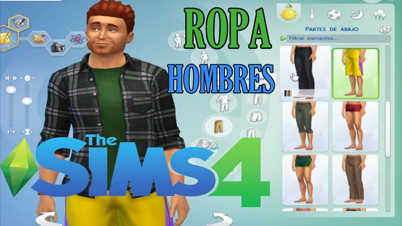 Super dulce descargar peinados sims 4 Fotos de cortes de pelo Consejos - Descargar Pack De Ropas y Peinados Para Hombre Los Sims 4 ...