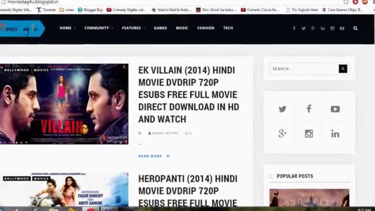 Direct download hollywood & bollywood movies dual audio hindi.