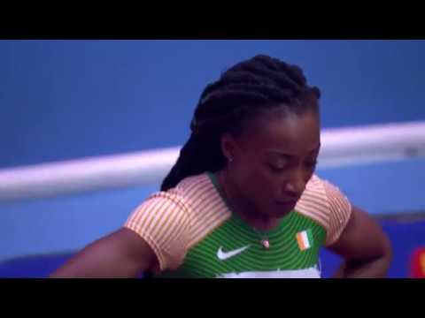 60m Final Women Birmingham World Indoor Athletics Championships 2018