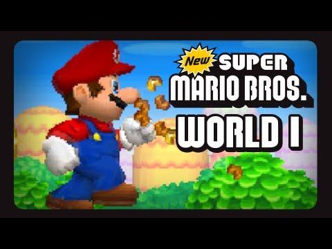 New Super Mario Bros. - DS - World 1