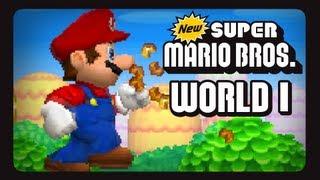 New Super Mario Bros. - DS - Welt 1