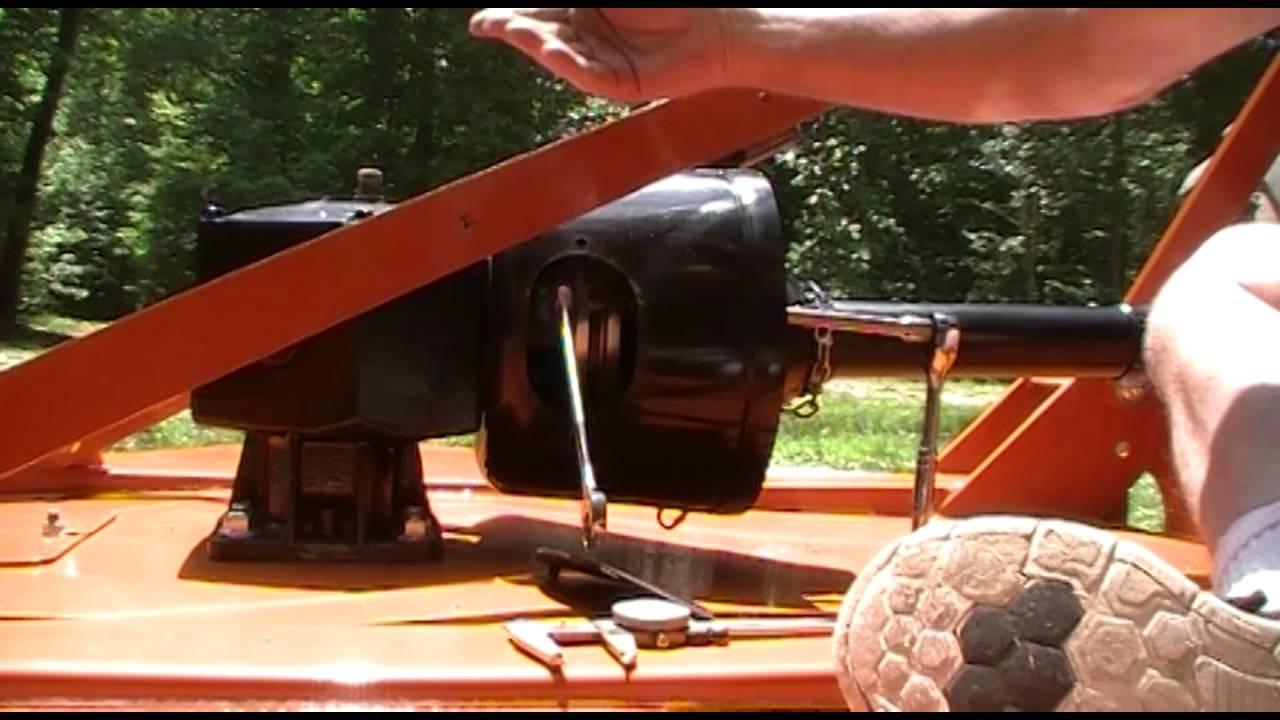 how to slip the clutch on the woods brush bull 5 foot bush hog