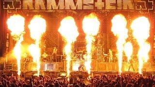 Rammstein Pyrotechnic 2016