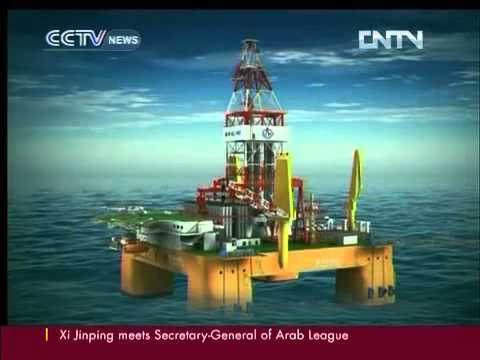 CHINA'S 1ST DEEP-WATER RIG TO START CCTV News