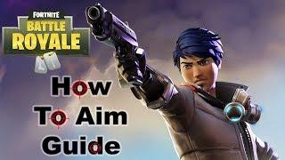 HOW TO IMPROVE AIM ON FORTNITE!