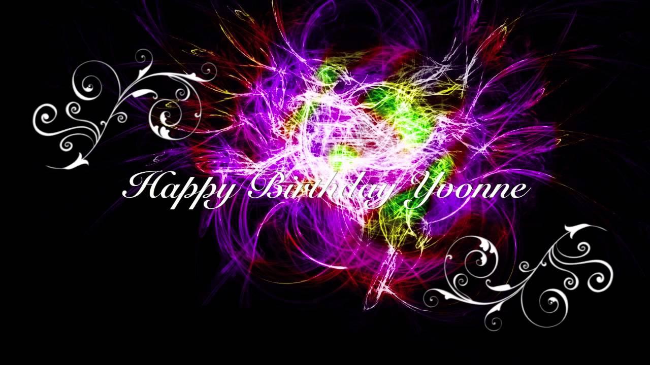 Happy Birthday Yvonne D Youtube