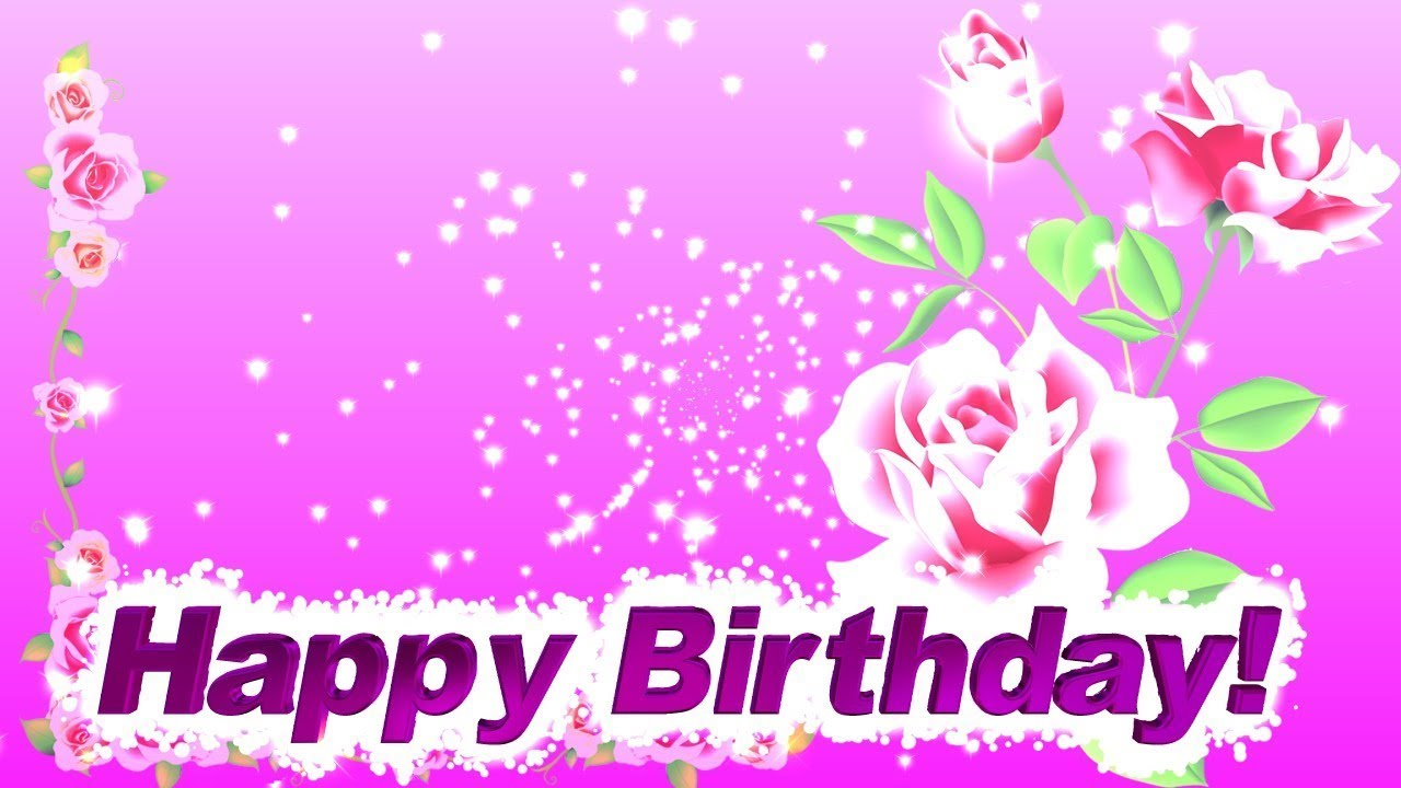 Happy Birthday Hd Background Video Effects Youtube