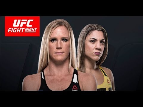 MMA media predict Holly Holm vs. Bethe Correia