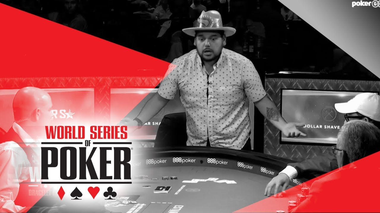 99 Loses Worst Bad Beat In Wsop History 50 000 Poker Players Championship 2019 Wsop Youtube