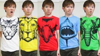 動物戦隊ジュウオウジャーファッションショー【プレミア発表会Tシャツ】