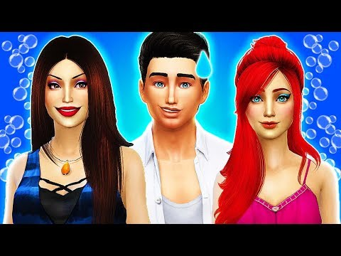 🦑CAN PRINCE ERIC SAVE ARIEL FROM URSULA?😈 The Sims 4 Disney Villains Challenge #9