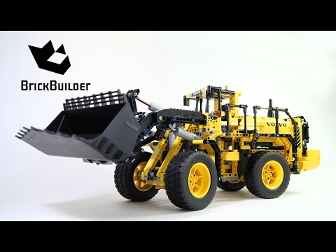 lego technic 42030 volvo l350f wheel loader lego speed. Black Bedroom Furniture Sets. Home Design Ideas