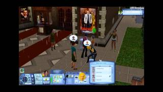The Sims 3: Into the Future Video Walkthrough - Trigger & Exploring Utopia Part 1