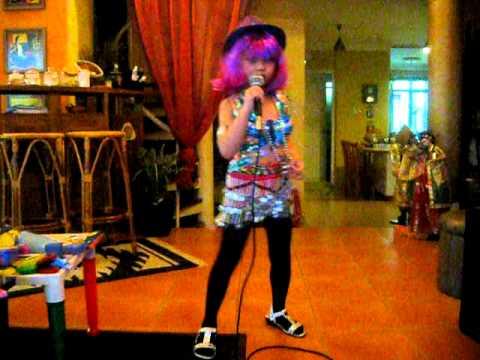 Myra (5 Yr-old)  As Lady Gaga, Singing