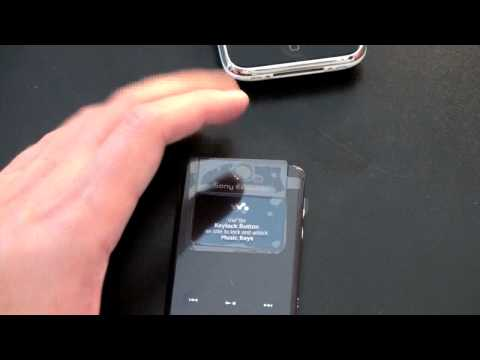 Sony Ericcson W518a Unboxing
