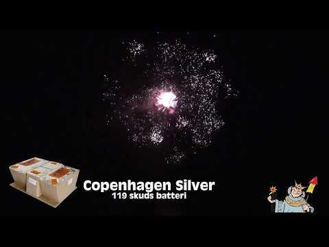 Krudtkongen - Copenhagen Silver 119 skud (Kombinations Batteri)