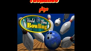 PatmanQC plays World-Class Bowling arcade