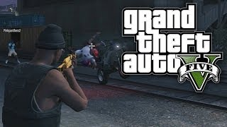 GTA 5 BOUNTY HUNTERS #12 - NIGHT RIDER! (GTA V Online)
