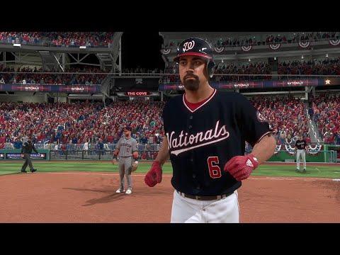 2019 World Series - Washington Nationals Vs Houston Astros - Game 4 (MLB 10/26/2019) MLB The Show 19