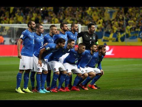 Highlights: Svezia-Italia 1-0 (10 novembre 2017)