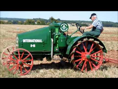 Bernac Concours labour tracteur à l'ancienne 2018