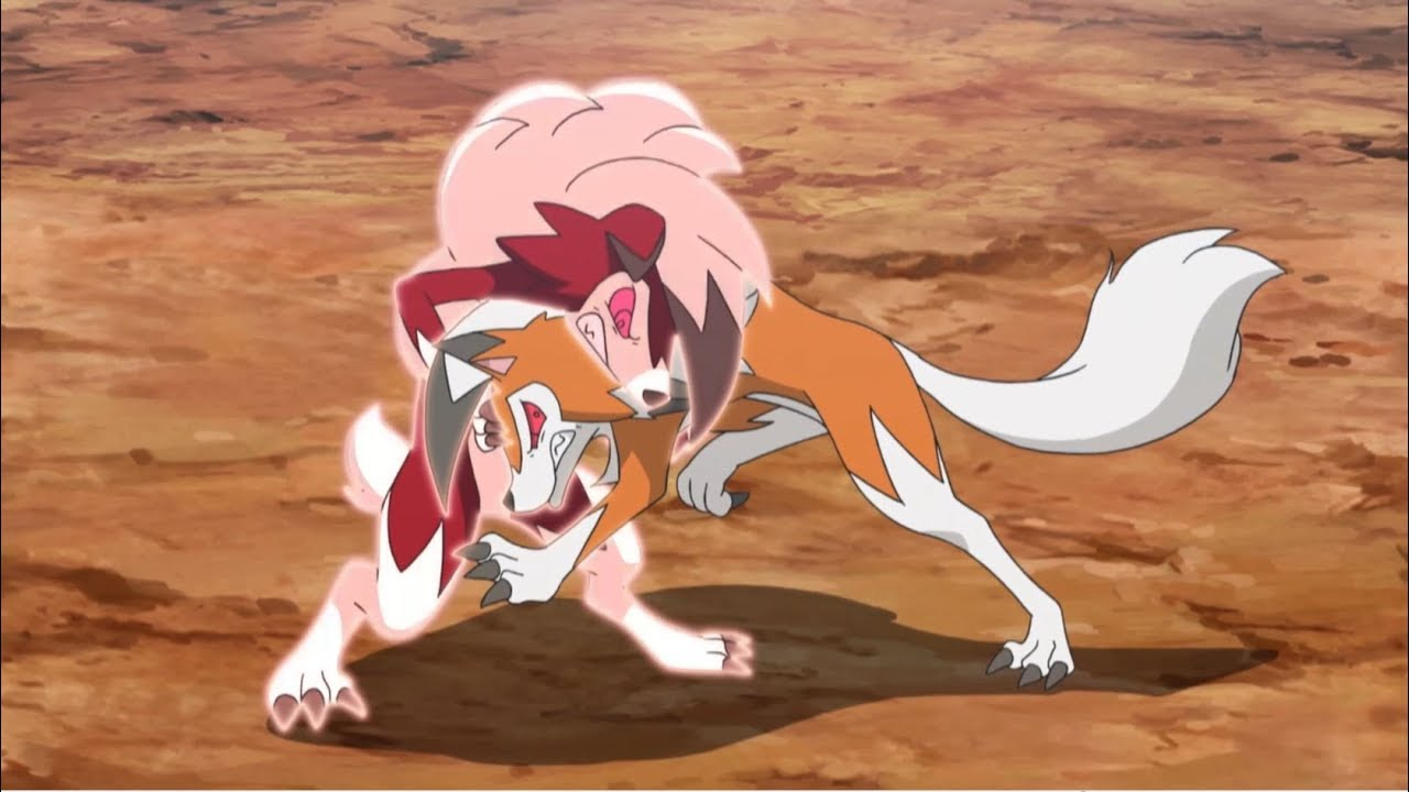 Lycanroc vs. Lycanroc!   Pokémon the Series: Sun & Moon—Ultra Legends   Official Clip