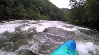 Middle Ocoee kayaking highlights