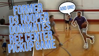 Playing At The Rec While Mic'd Up Vs SCRAPPY Hoopers !