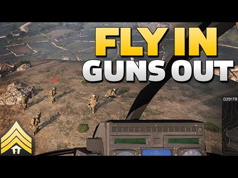 Fly In, Guns Out - Arma 3 CAS & Transport