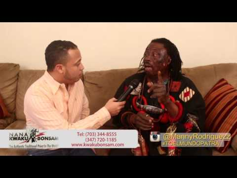 Interview with Nana Kwaku Bonsam by Manny Rodriguez