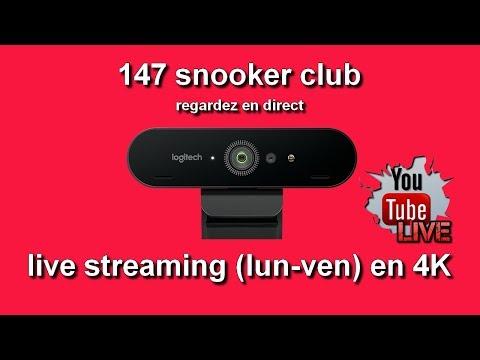live streaming / regardez en direct du 147 snooker club en 4K - YouTube