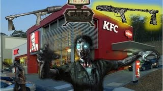 KFC 2.0 WAW (Custom Zombies #1) | PACK-A-PUNCH FLAMETHROWER IN ZOMBIES?