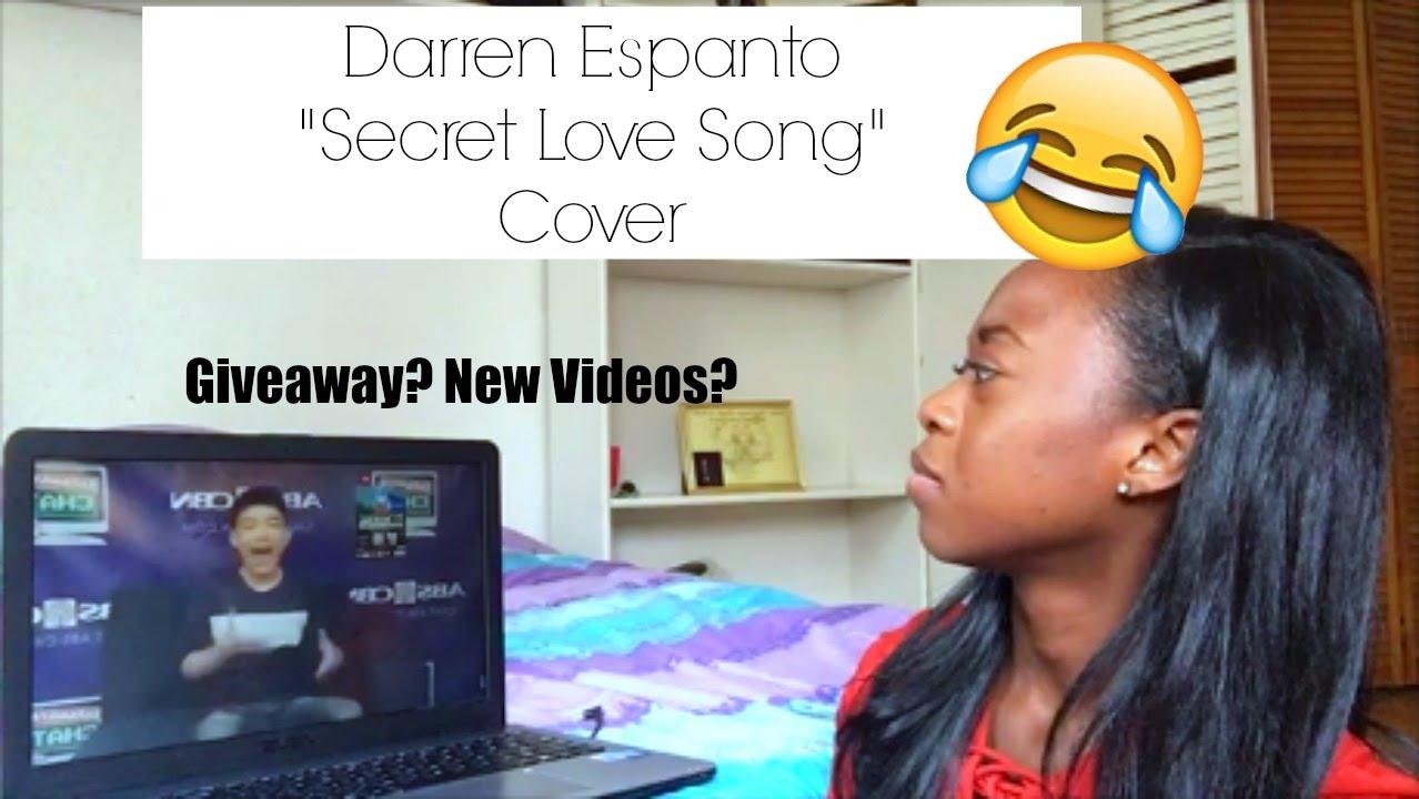 "Darren Espanto ""Secret Love Song"" Cover (Kapamilya Chat ..."