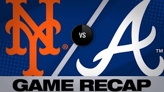 4/13/19: Braves use 13 hits to down Mets