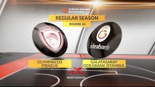 Highlights: Olympiacos Piraeus-Galatasaray Odeabank Istanbul